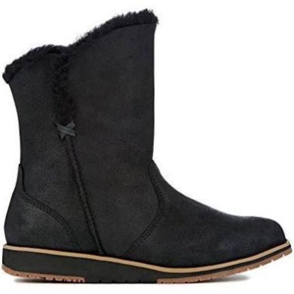 ec316bb0df7 [Emu Australia] Womens Beach Lo Deluxe Wool Boots